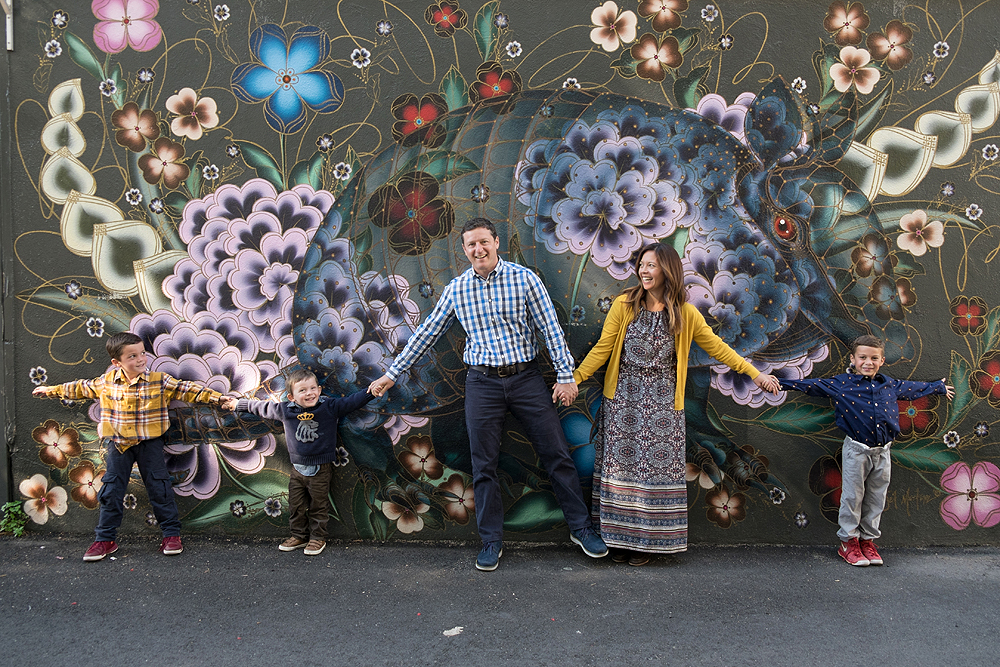 Wall Mural Family Portraits